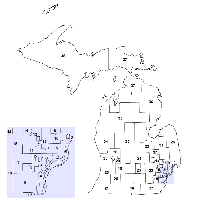 Senate Districts